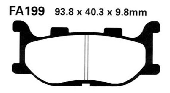P24076 Pastiglie Freno Anteriori BREMBO S-Max Mondeo IV V Galaxy 06/> Freelander