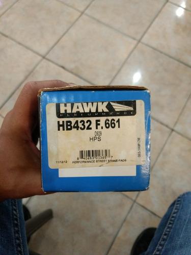 pastillas freno hawk hps 7880-7830 subaru impreza y forester