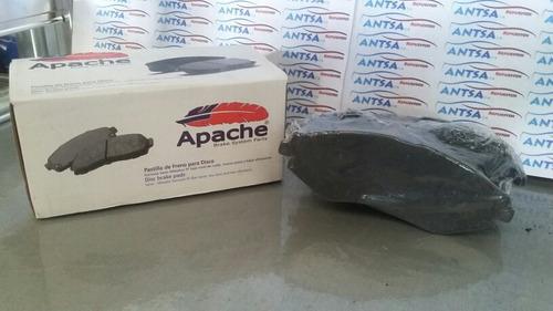 pastillas frenos aveo/optrachevrolet delantera  apache d797