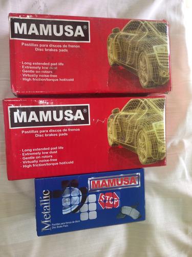 pastillas mamusa del 7070 malibu, monte carlo, blazer, s10