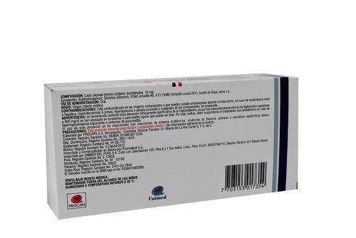 pastillas para el acné