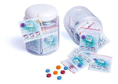 pastillas para teñir el agua color mojado x 3