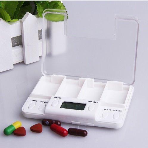 pastillero con alarma