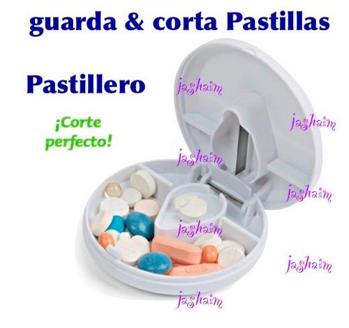 pastillero cortador guarda pastillas nuevo