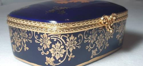 pastillero limoges porcelana made in france antiguo