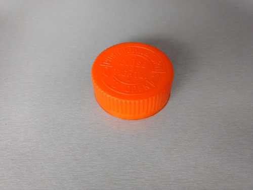 pastillero pet 150 ml. tapa rosca y tapa seguridad