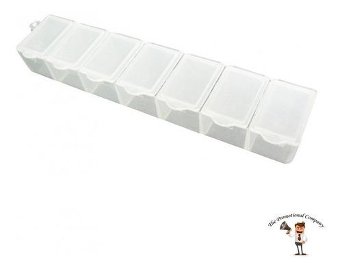 pastillero plastico semanario medicamentos medicina pastilla