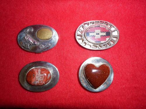 pastillero plata piedra y telar envio gratis