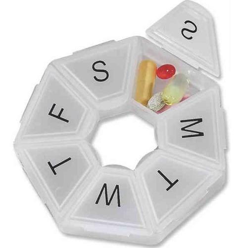 pastillero semanal organizador de pastilla + envio gratis