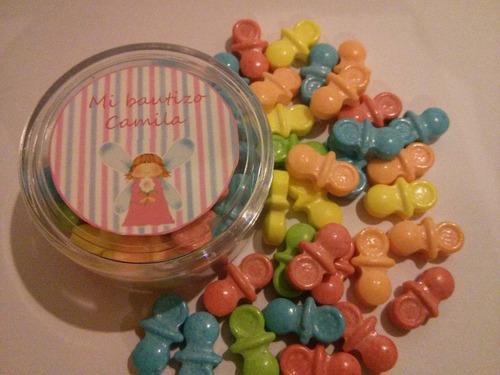 pastilleros dulce chupon bautizos baby shower nacimientos