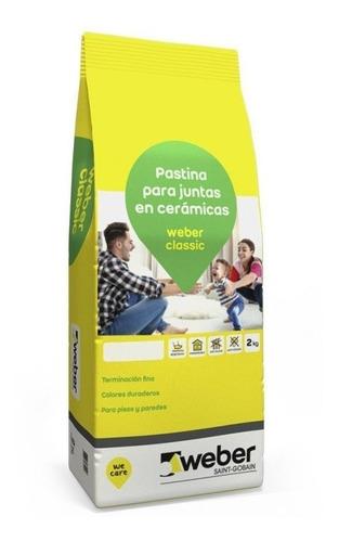 pastina weber classic x 2kg perlato ceramicos