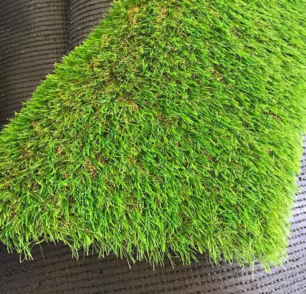 Pasto artificial sintetico para jardin 30mm precio por m2 for Jardines de cesped artificial