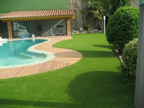 pasto/ césped artificial premium soft ornamental