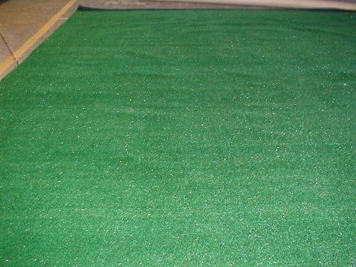 pasto sintético 10 mm ( natura 4 metros de ancho)