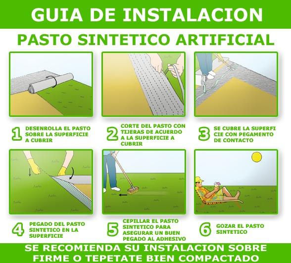 Pasto sintetico artificial para jardin 30 mm en for Precio del mercado de concreto encerado