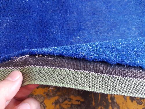 pasto sintetico / pasto artificial azul