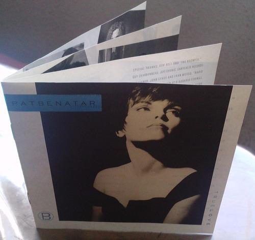 pat benatar true love cd rarisimo hecho en usa 1a ed 1991
