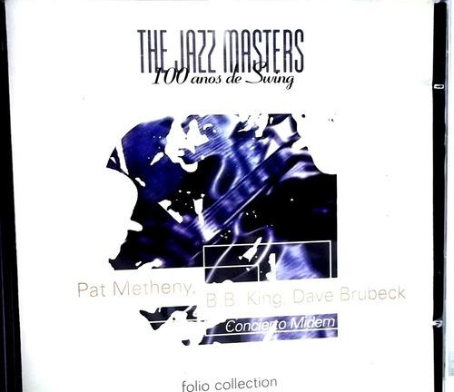 pat metheny, b.b. king, dave brubeck cd jazz masters