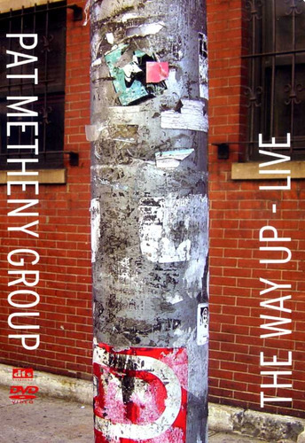 pat metheny group the way up live - dvd c/ encarte