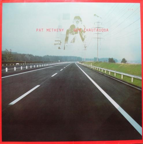 pat metheny new chautauqua lp ecm 1983 estéreo