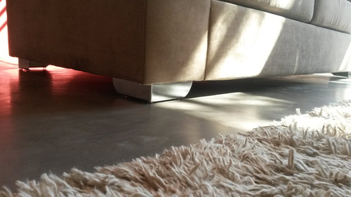 pata de aluminio - esquina ele