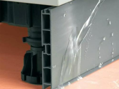 pata de pvc para muebles cocinas ajustable super formica