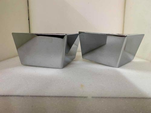 pata escuadra metálica cromada cálidad