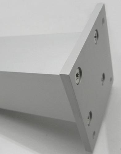 pata mueble aluminio 10cm x 4 unidades moderna verashop