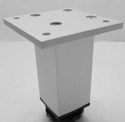 pata mueble aluminio 12cm x 4 uni regulable moderna verashop