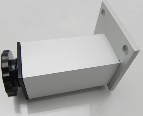 pata mueble aluminio 12cm x 4 unidades moderna verashop