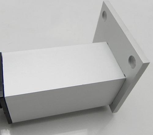 pata mueble aluminio 20cm moderna cuadrada sofa