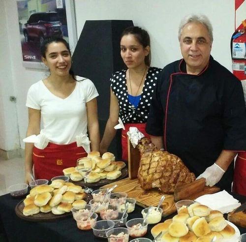 pata pernil cerdo-catering  eventos-pizza party-cumple