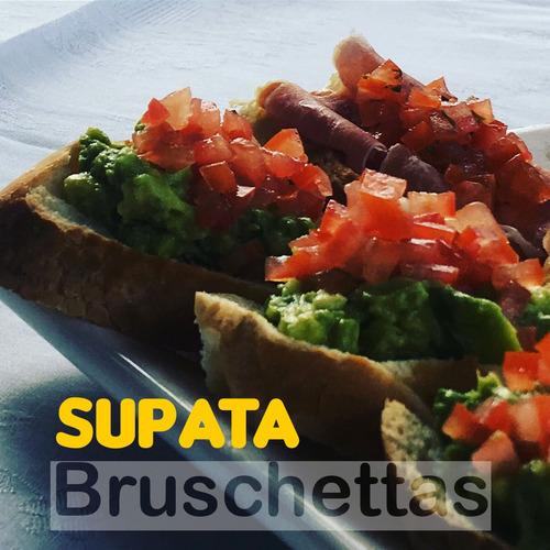 pata pernil de cerdo ternera ´+ panes y salsas - supata