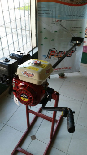pata puyer 6,5 hp  arranque manual