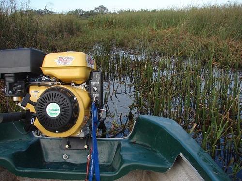 pata puyer con motor 6,5 hp arranque manual y eléctrico