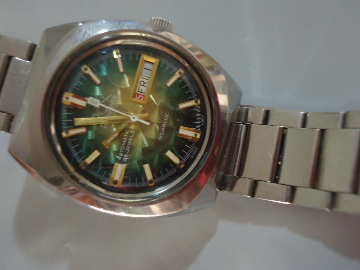 09b61260e15 patacão antigo relógio mondaine automático n  orient   seiko. Carregando  zoom.