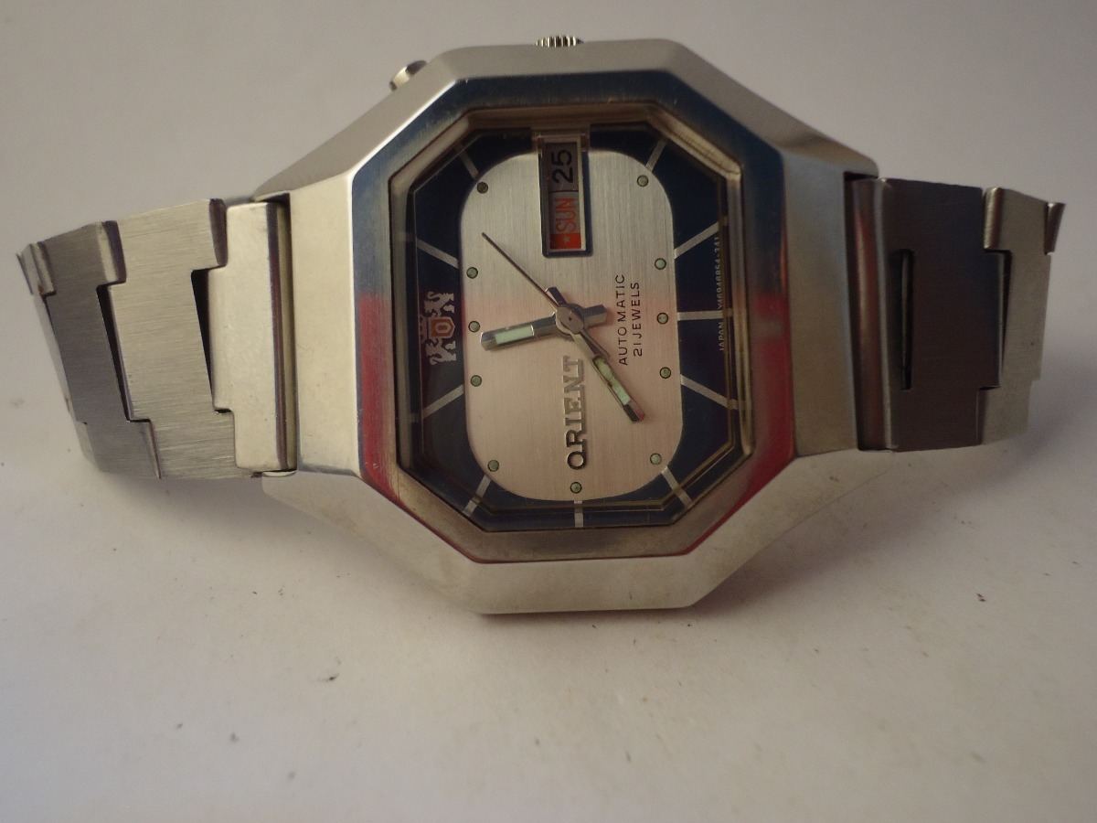 07a76f7635f patacão relógio orient automático raro de coleção. Carregando zoom.