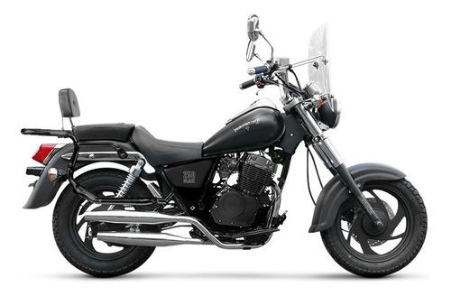 patagonian 250 black zanella chopper 0km urquiza motos