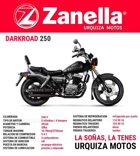 patagonian 250 moto zanella