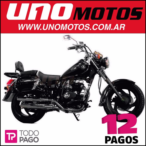 patagonian eagle 150 black custom 150cc 0km