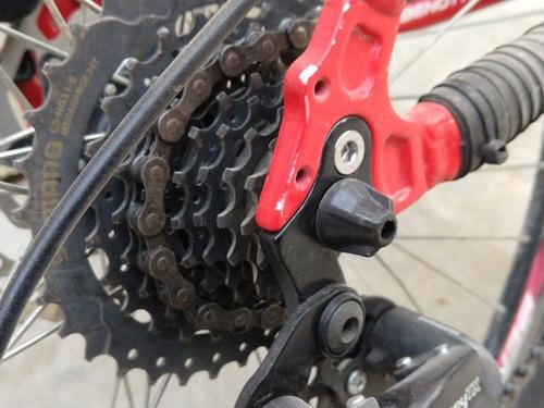 pata,patilla de cambio universal bicicleta desviador alum