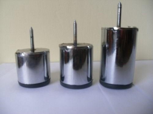 Patas aluminio cromadas en acero para muebles y sofa - Patas para sofas ...