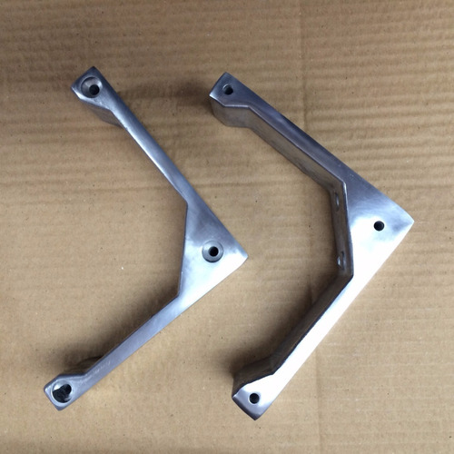 patas de aluminio para muebles - liquidamos stock