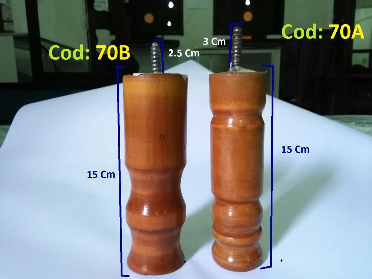 Patas de madera para muebles y box varios modelos bs 170 00 en mercado libre - Patas para muebles de madera ...