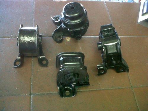 patas de motor honda prelude 90-94(revulcanizadas)kit 4pizas