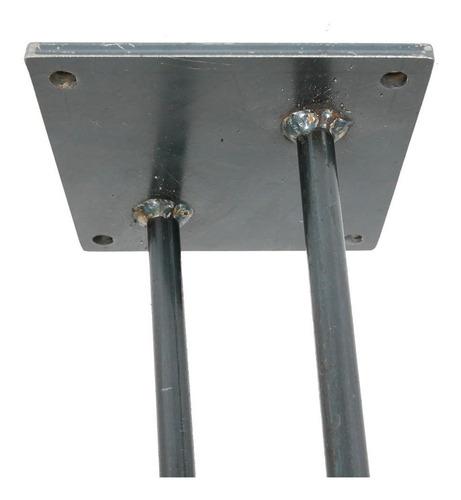 patas hairpin de metal para bancos y mesas de 43 cm altura