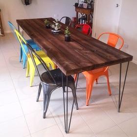 Patas Hairpin P/mesa /escritorios . 73cm Potro Mobiliaro