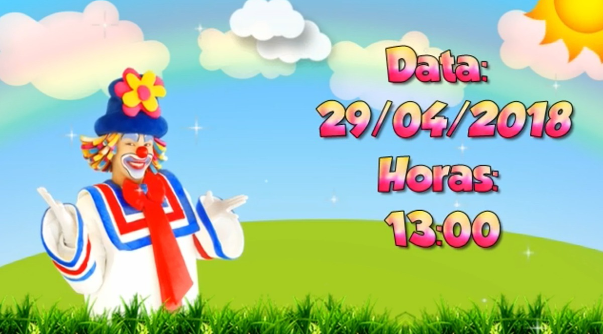 Patati Patata Convite Digital Para Aniversário Infantil R 1790