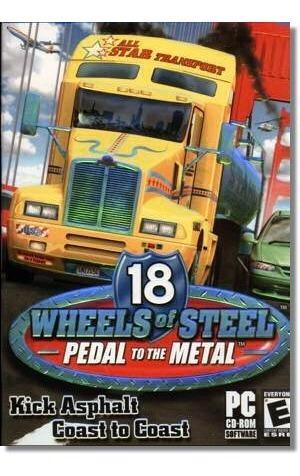 patch 18 wheels pedal to the metal  completo em português