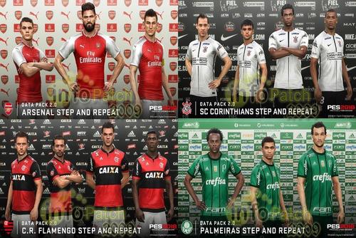 patch (atualização) pes 2018 ps3 temporada brasileirão 2018